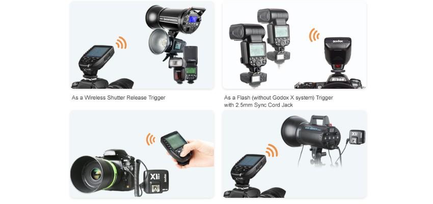 GODOX X PRO-C Transmissor p/ Canon